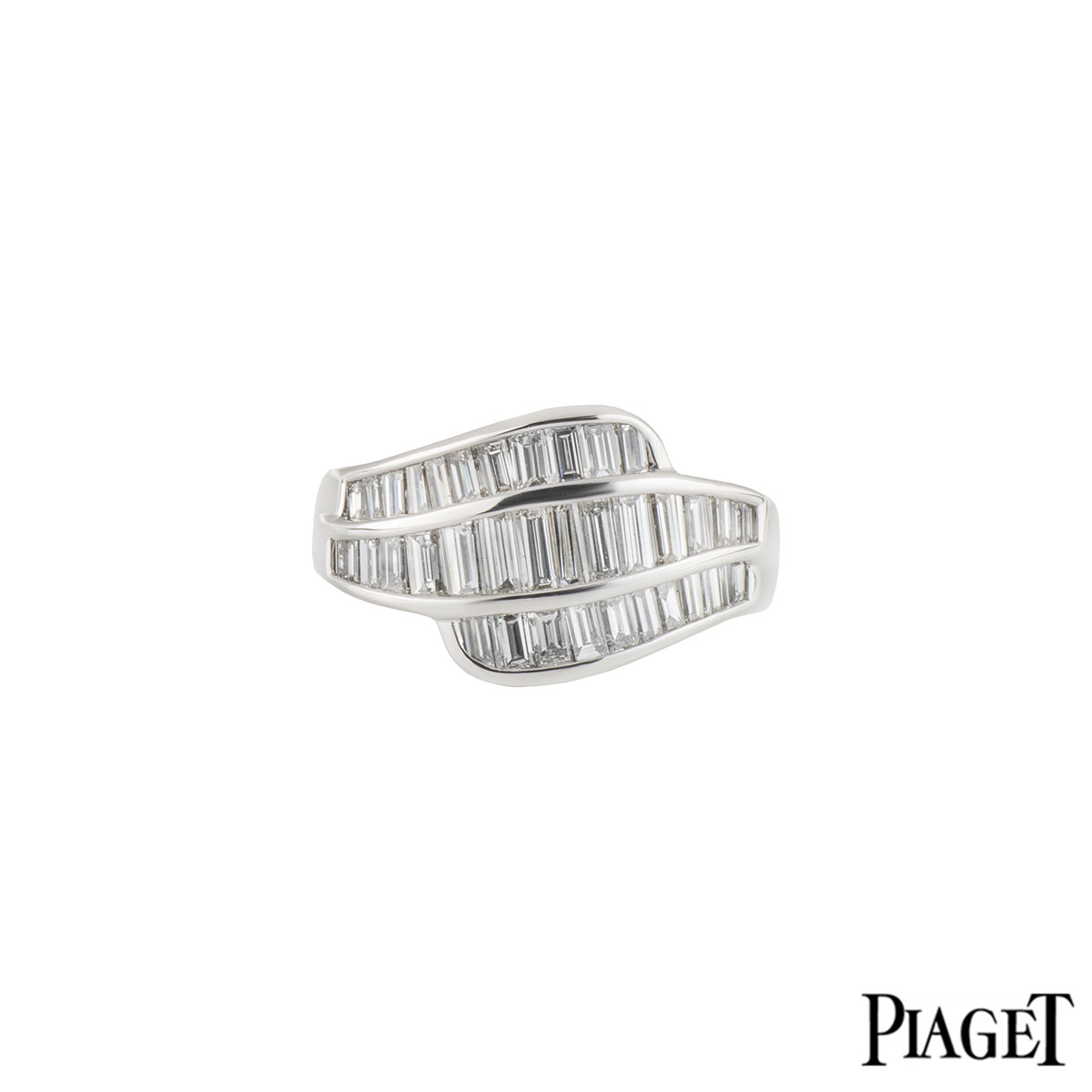 Piaget White Gold Diamond Ring